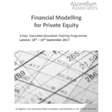 Financial Modelling for Private Equity - London - September 2017
